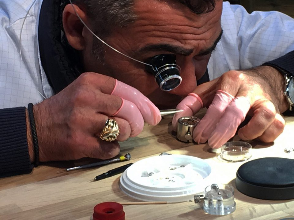 The art of watch making by Hermes