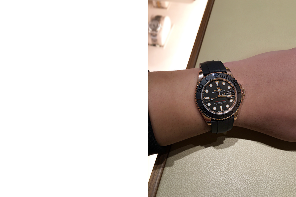 The Rolex Yachtmaster Oysterflex