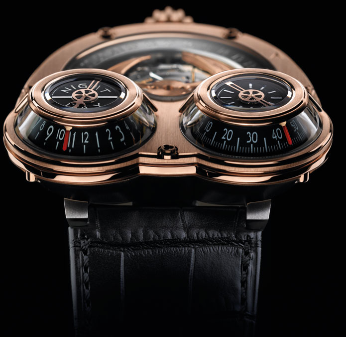Top 6 Black & Rose Gold watches